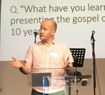 Speaking to leaders of Commission churches